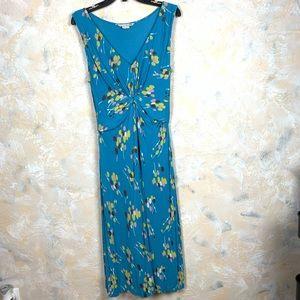 Boden Floral Knit Jersey Maxi Dress 59